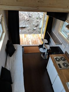 Tiny House, Building A House, Curtains, Home Decor, Insulated Curtains, Homemade Home Decor, Blinds, Tiny Houses, Draping
