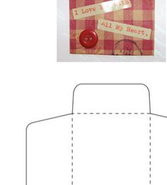 Make These Blank, Easily Decorated Envelope Templates Your Next Crafts Project: Artist's Trading Card Envelope