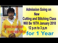 admission information   tailoring and dressmaking courses    cutting and...