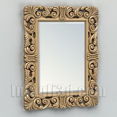 3D model for CNC routers and 3D printers (art. Rectangle mirror frame 007)