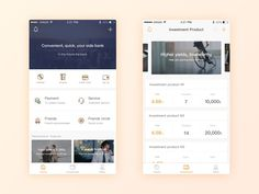 Let your financial business more easily Focus on ui/ux. If you like my job, please follow me.