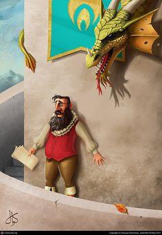 Hot Digital Illustrations by Huseyin Sonmezay