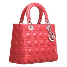 LADY DIOR    Cruise 2013 Collection  Light coral 'Lady Dior' bag    #dolsboutique