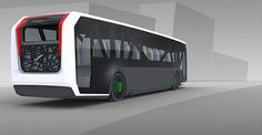 New Public Transport Comes With Futuristic Design Mode Of Transport, Public Transport, Bike Sketch, Luxury Bus, Automobile, Mini Bus, Mitsubishi Pajero, Bus Coach, Volvo Trucks
