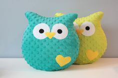 Our owl has a big heart and loved every baby. He loves to play and cuddle. Pillow sewn cotton and wool. Fill silicone nonallergenic. Original gift idea. The height of about 40 centimeters, a...