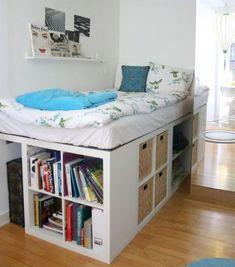 Insane Bedroom Apartment Organization Ideas 37