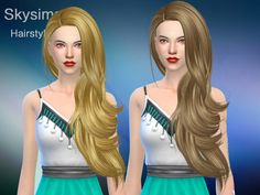 female adult hair  Found in TSR Category 'Sims 4 Female Hairstyles'