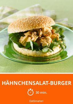 Hähnchensalat-Burger - smarter - Zeit: 30 Min. | eatsmarter.de