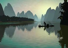 Vietnam or China, depending on who you ask... the original pinner said Vietnam.  Either way, beautiful.