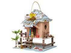 Fishing Lodge Birdhouse