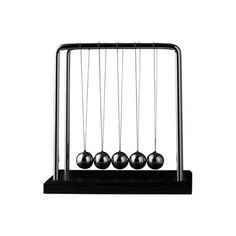 This Newton's Cradle is an essential for any office - never mind the discovery of gravity and unravelling the mysteries of physics, Sir Isaac Newton also made his mark with this swinging desk toy! Demonstrating the conservation of momentum and energy, this will keep you (and no doubt passers-by) entertained!  Check out Gadget Zone's other items here: http://www.shoplink.ie/index.php?option=com_mijoshop&route=product/manufacturer/info&manufacturer_id=26&Itemid=1262