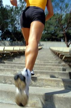 11. Workout for the legs - walking/running stairs is a great leg workout, we do this twice a day at work to get a quick workout  #Cheapsally #Fitness