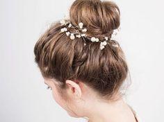DIY-Anleitung: Haarschmuck mit Perlen herstellen via DaWanda.com