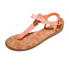 Charm Sandals Salmon, $32, now featured on Fab.