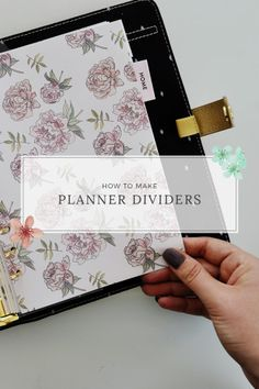 Caylee Grey :: How to Make Planner Dividers