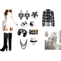 Set 23 by khuizar on Polyvore featuring Rails, JY Shoes, Lulu Frost, Effy Jewelry, Lisa August, Accessorize, Kevin Jewelers and Bling Jewelry