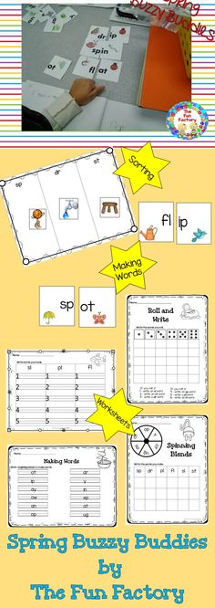 $Do your students need more practice with beginning blends? This product has two levels of activities to provide differentiation for your class during literacy center time. Activities are perfect for small group or centers. Your students can sort picture cards according to the beginning blended sounds, or they can match onset and rime cards to make new words. The beginning blends practiced in this product are: • sp • dr • st • sl • pl • fl Included are  worksheets for independent practice.
