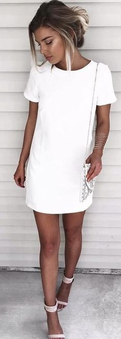 #summer #fashion #trends |  Little White Dress
