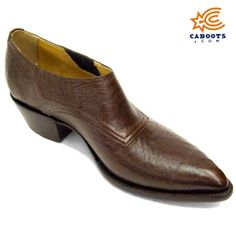 Smooth Ostrich Shoe Boots, $700, Shoe Boots, Genuine Smooth Ostrich Construction, Available in 18 Different Colors.