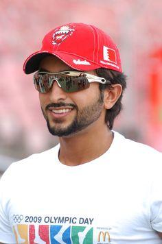 Sheikh Nasser bin Hamad Al-Khalifa of Bahrain