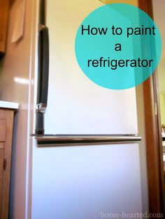 Have an outdated refrigerator, but it still works? Maybe just some ugly rust spots on it? Lucky you. Today, you can learn how to paint a refrigerator. How