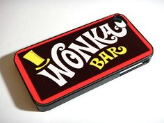 wonka bar iPhone 5 Case OH MY GOD. I HAVE PINNED SO MANY IPHONE CASES BUT THIS IS THE ONE I WANT. OH MY OGD. OH MY GOD. OH MYGOD.