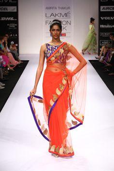 Scarlet Bindi - South Asian Fashion: Lakme Fashion Week Winter/Festive 2012 - Day 5