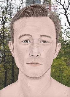 Drawing portrait Joseph Gordon-Levitt by carlosirigoyen.deviantart.com on @deviantART