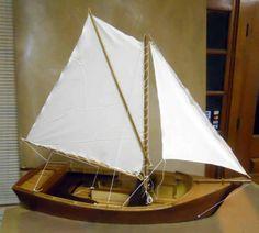 Wooden model sailboat plans