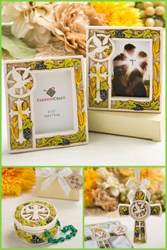 Holy Natures Harvest Themed Cross Favors from hotref.com #cross #partyfavors