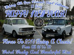 Well Guys & Gals, 2017 is drawing to a close. I just want to say a massive thank you to each of you that have liked, followed, shared and commented on Weird Wacky and Wonderful Mini. I hope you've enjoyed our bit of Mini Madness and you continue to do so for a long time to come.  Cheers folks, have a great NYE and a crackin 2018! Ryan