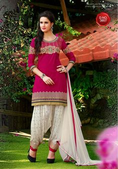 Nikvik offer Patiala Salwar Suit and customize Punjabi boutique style suits, buy Patiala suit salwar online from the various collection of Patiala suit designs like cotton Patiala suits, Punjabi suit salwar etc. Women Salwar Suit, Patiala Salwar Suits, Cotton Salwar Kameez, Salwar Suits Online, Pakistani Salwar Kameez, Punjabi Suits, Anarkali, Girls Kurti, Cotton Suit