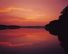 Pre-dawn, Lake Fayetteville, Arkansas Photographer: Copyright by Tim Ernst