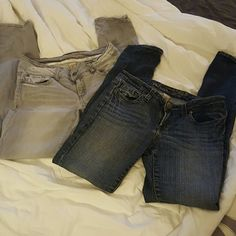 BUNDLE Refuge pants Dark jeans & gray pants both from Charlotte Russe Charlotte Russe Pants Skinny