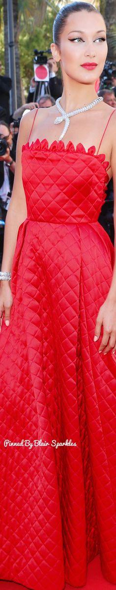 Bella Hadid at Cannes Film Festival 2017 ♕♚εїз   BLAIR SPARKLES  