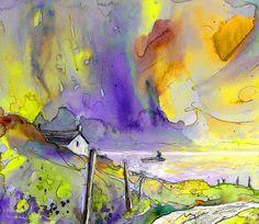 Fantaquarelle 03. Artist:Miki De Goodaboom. Medium:Painting - Watercolour And Ink