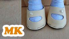 Туфельки для куклы из фоамирана // Подробный мастер-класс