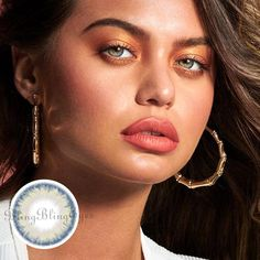 Best Colored Contacts, Prescription Colored Contacts, Change Your Eye Color, Soft Contact Lenses, Lenses Eye, Are You The One, Drop Earrings, Blue, Jewelry