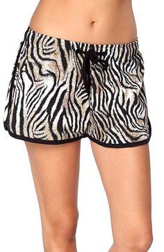Super seje Happy Holly Shorts Ingela Zebra Happy Holly Underdele til Outlet i behageligt materiale