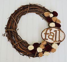pretty Fall wreath