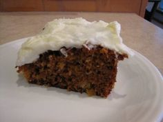 Bob's Red Mill Whole Wheat Carrot Cake--this has been my go to recipe for years--I cut back on the sugar, replace half the oil with applesauce and add extra fruit and veggies--raisins, chopped apple and zucchini (when I have it.)  Yummy!