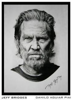 Jeff Bridges by Danilo Aguiar Piai