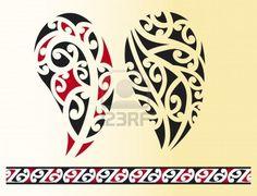 Set of maori tribal tattoo Royalty Free Vector Image , Free Vector Images, Vector Free, Left Arm Tattoos, Silver Fern, New Zealand Art, Maori Art, Tattoo Illustration, Tribal Patterns, Tribal Art