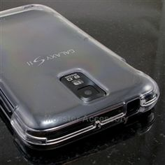 Click Image to Browse: $5.95 Clear Hard Case Snap On Cover For Samsung Galaxy S2 (Hercules T989)
