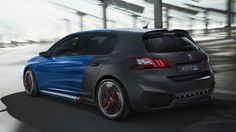 Meet the Peugeot 308 R HYbrid – the 500 hp power and the four-wheel drive push back the boundaries of sporting prowess, developed by Peugeot Sport. Frankfurt, Shanghai, Peugeot, Electric Car News, 308 Gti, Chevrolet Volt, Miniature Cars, Automotive News, Performance Cars