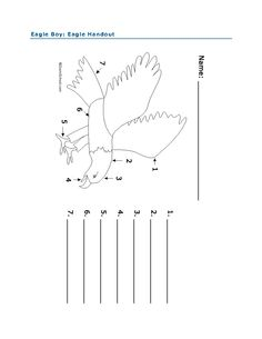 Eagle activity for Eagle Boy by Richard Lee Vaughan. Students colour and label the parts of the eagle. Full lesson plan at http://www.witsprogram.ca/schools/books/eagle-boy.php?source=lesson-plans