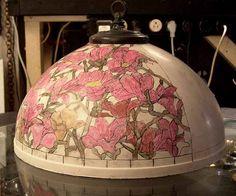 Tiffany News: Tiffany lamp projects at Dr. Grotepass Studios