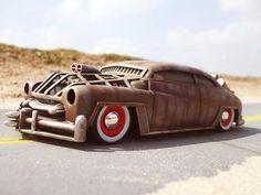 Mad Max rides again. Rat Rod Trucks, Rat Rod Pickup, Rat Rod Cars, Big Trucks, Semi Trucks, Diesel Trucks, Ford Trucks, F100 Rat Rod, Dually Trucks
