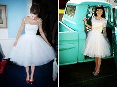 vestidos de noiva vintage curto - Pesquisa Google