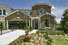 Luxury villa-style homes at Nocatee.
